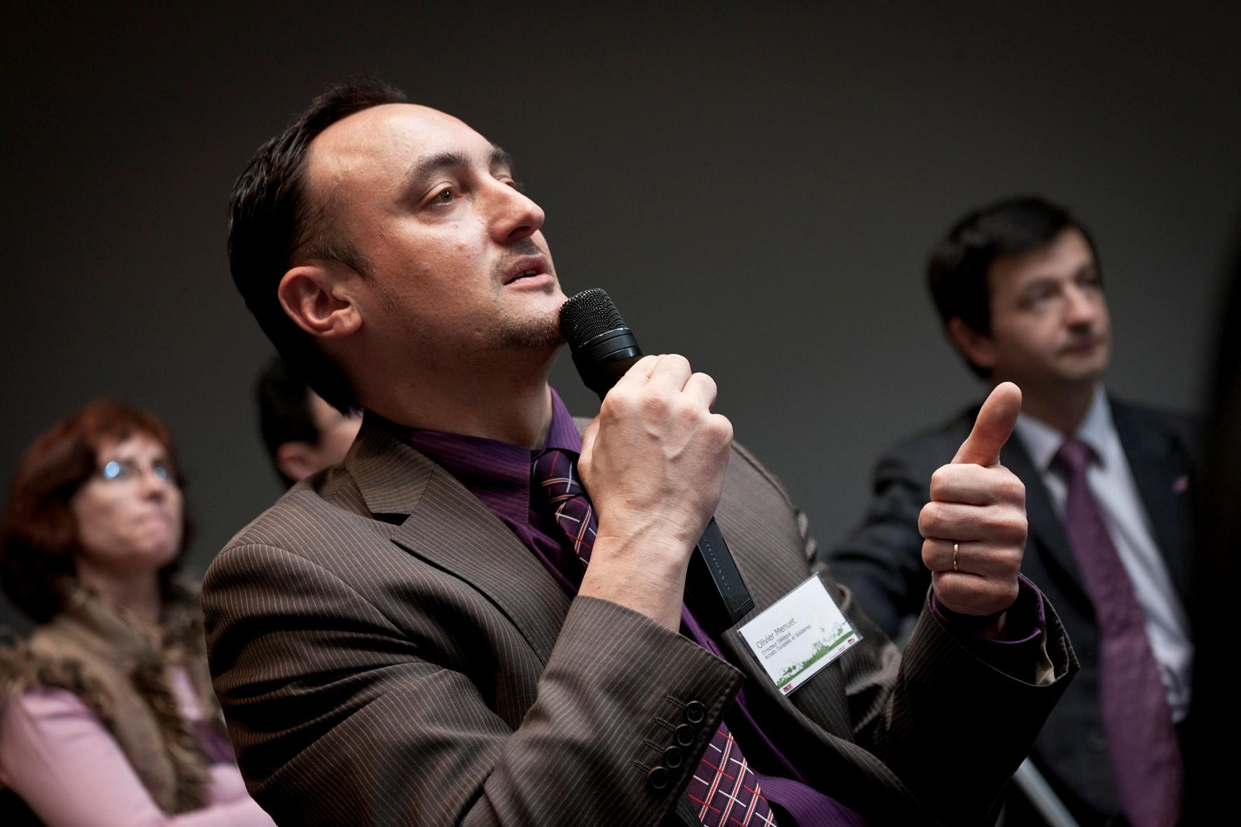 Olivier Menuet, Directeur Délégué Achats Durables et Solidaires, Politique PME à la SNCF