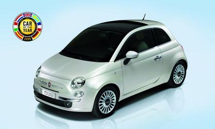 La Fiat 500 élue 'Voiture de l'année 2008'