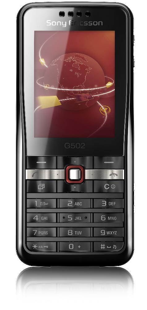 sony ericsson pr sente son nouveau t l phone mobile le g502. Black Bedroom Furniture Sets. Home Design Ideas