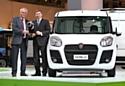 Le nouveau Fiat Doblò Cargo élu 'Van of the Year 2011'
