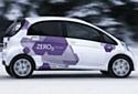 La Citroën C-Zéro, nouveau modèle 100% électrique du constructeur.