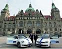 A Hannovre, le premier modèle de la flotte d'auto-partage sera la Golf BlueMotion