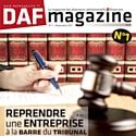 La couverture du 1er numéro de DAF Magazine