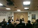 De gauche à droite : Jeam-Marc Lagoutte, directeur général du système d'information de Danone; Myriam Cohen-Welgryn, directrice générale Nature de Danone et Nicolas Sekkaki, directeur général de SAP en France