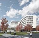 Le  futur campus de Mercedes-Benz France à Montigny-le-Bretonneux (78)