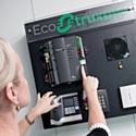 Avec la solution EcoStruxure, Schneider contrôle en temsp réel température, éclairage et stores.