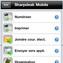 Sharp lance Sharpdesk Mobile, sa nouvelle application dédiée à l'impression et la numérisation mobile