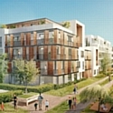 Le futur éco-quartier Camille-Claudel, à Palaiseau.