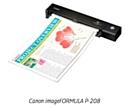Le scanner portable Canon imageFORMULA P-208.