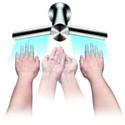 Le robinet Dyson Airblade Tap de Dyson.