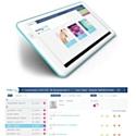 L'application sur tablette numérique easy·tab est destinée aux établissements médico-sociaux.