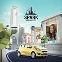 "Chevrolet lance ""Spark Social City"""
