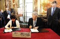 Signature du contrat de partenariat publi-privé avec Bouygues Construction