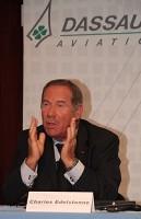 Charles Edelstenne, le p-dg de Dassault Aviation