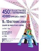 Les 9 et 10 octobre prochains, près de 450 entreprises et collectivités seront présentes au forum 'Paris pour l'emploi'