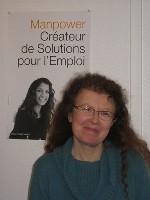 Fabienne Lampel, directrice achats de Manpower France et sponsor du projet.