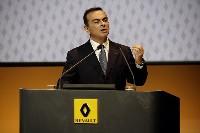Carlos Ghosn, le président de l'alliance Renault Nissan