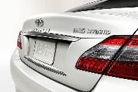 Le moteur électrique coupé au V6 essence permettra de réduire la consommation.