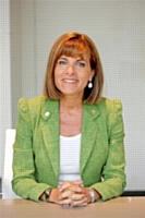 Anne Lauvergeon, présidente du directoire d'Areva.