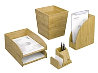 La gamme Bamboo de Rexel.