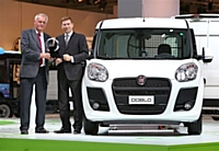 Le nouveau Fiat Doblò Cargo élu 'Van of the Year 2011'