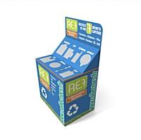 Collecteur de déchets recyclables RE7.