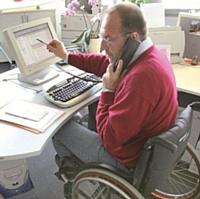 En 2010, 5 400 travailleurs handicapés se sont vus proposer un emploi par Manpower