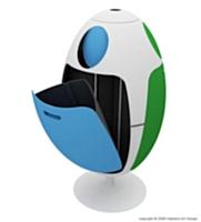 Ovietto, une poubelle design