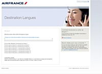 Air France choisit la plateforme d'e-learning développée par Digital Publishing