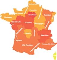CDC Fast publie la carte de France de la dématérialisation