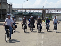 Les salariés de Rhodia adoptent le vélo pour se déplacer sur site