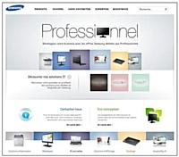Samsung IT lance son nouveau site internet pour les professionnels