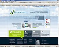 Site www.e-attestations.com
