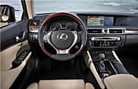 Ecran multimédia de la Lexus GS 450h Full Hybrid