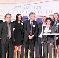 Lauréats des Trophées du Dif Demos