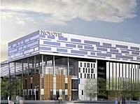 Le Novotel Lyon Confluence.