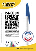 "Bic mise sur le ""made in France"""