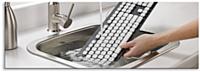 Le clavier lavable Logitech Washable Keyboard K310 est aussi facile à nettoyer qu'à sécher.