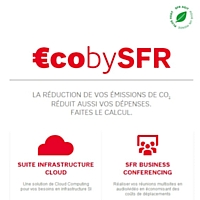 SFR lance €CObySFR, un éco-calculateur pour mesurer les gains environnementaux et financiers liés aux solutions entreprises