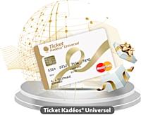 EdenredFrance lance la carte-cadeau Ticket Kadéos Universel