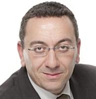 Aziz Sedrati, responsable de l'informatique et des moyens généraux chez Wendel