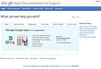Google crée un nouveau site support dédié aux Google Apps