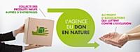 Le don en nature, une autre façon de soutenir le secteur protégé