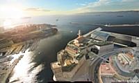 à Marseille, le musée des Civilisations de l'Europe et de la Méditerranée (MuCEM) sera inauguré en juin prochain.
