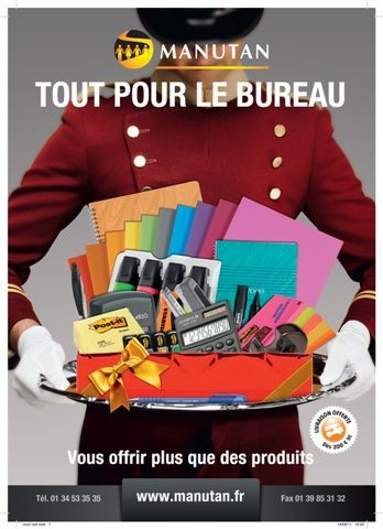 Manutan sort son catalogue tout pour le bureau for Catalogue bureau
