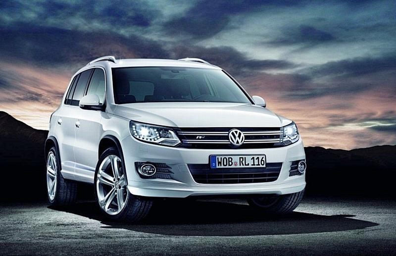 le nouveau tiguan r line est arriv chez volkswagen. Black Bedroom Furniture Sets. Home Design Ideas