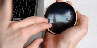1er prix : le miroir noir de Mathilde Vello