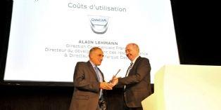 Dacia reçoit le prix du meilleur coût d'utilisation