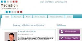 La médiation des marchés publics lance son site internet