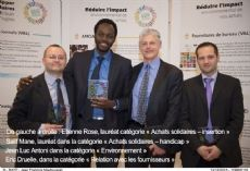 Les 1ers Trophées des achats responsables de la RATP : qualité et variété des projets